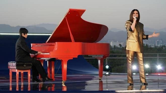 Laura Pausini e Diane Warren. Credit: Valentino/Laura Pausini